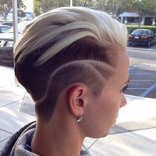Bold Super Short Haircuts