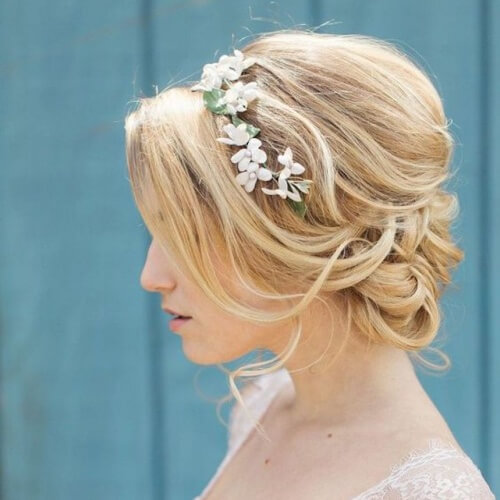 Bridesmaids Updos for Short Hair