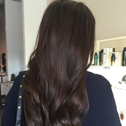50 Sublime Chocolate Brown Hair Shades