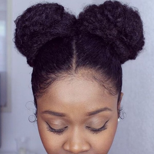 Double Afro Puffs