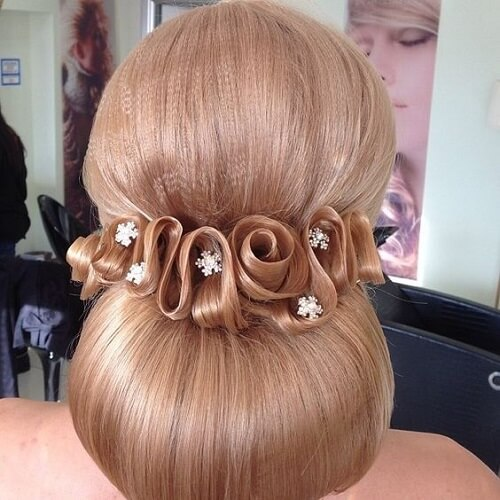 Elaborate Bridal Hairstyle