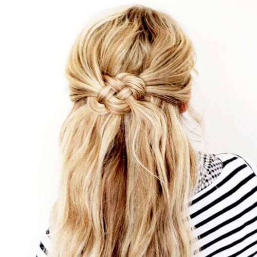 Half Chignon Hairstyle
