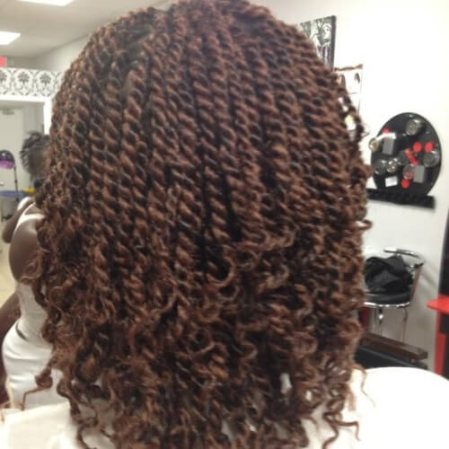 Half Curly Twists