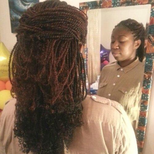 Half Up Twist Hairstyles