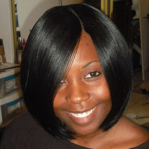 Invisible Part Sew in Weave Hairstyles