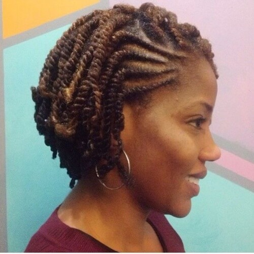 Kinky & Flat Twists