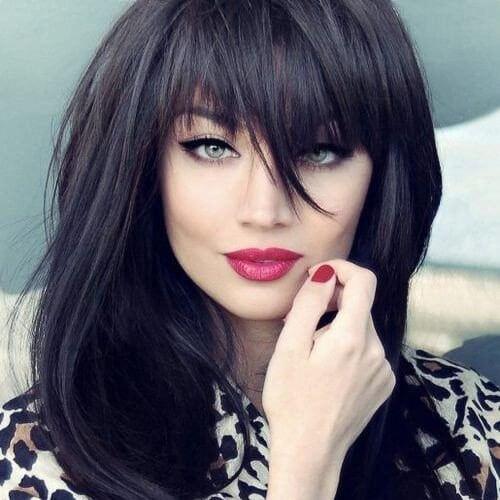 50 Extraordinary Ways To Rock Long Hair With Bangs Hair