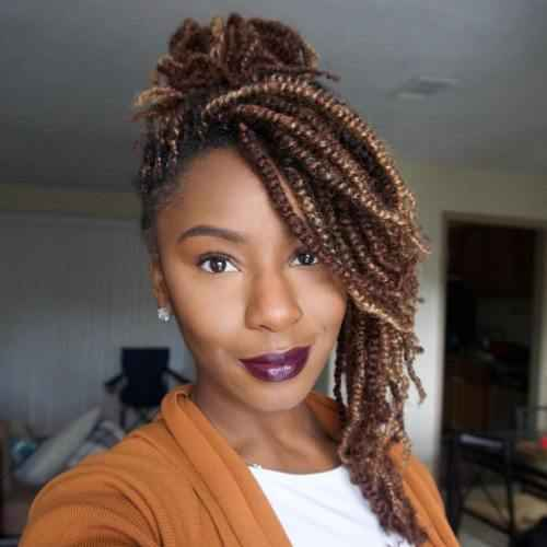 Outgoing Kinky Twists Ideas African American Women