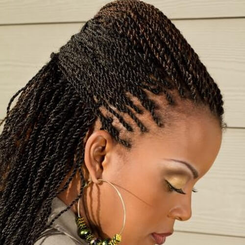 50 Outgoing Kinky Twists Ideas for African American Women | Hair ...