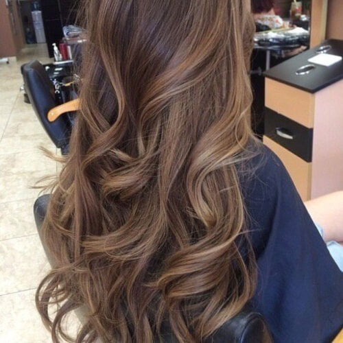 Milk Chocolate Brown Hair