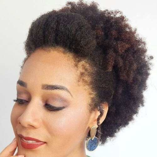 Natural Updos for Short Hair
