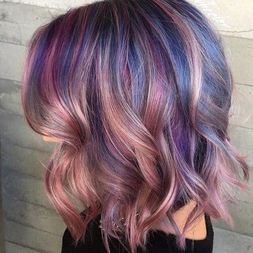 Pastel Blend Hairstyles