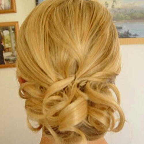 Pinned and Curled Hairstyles