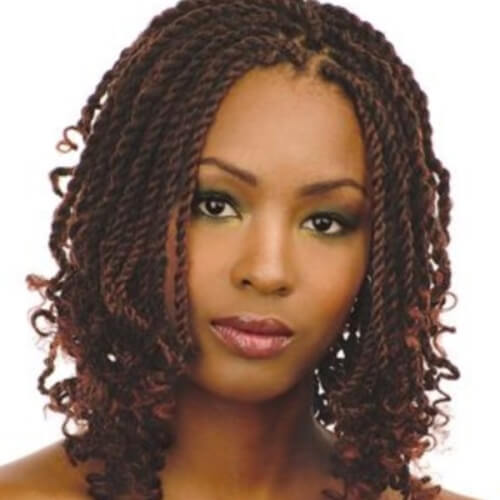 Red Brown Twists