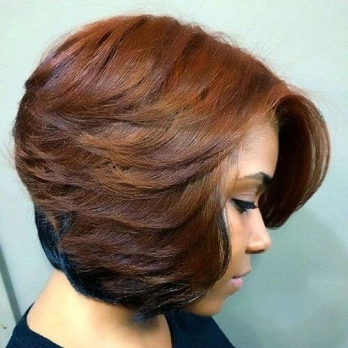 Sew in Layered Bob Hairstyles