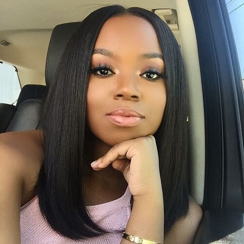 Shoulder Length Sew in Weave Hairstyles