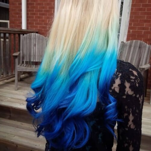 Three Color Ombre