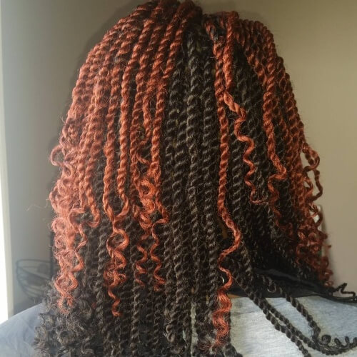 Kinky Twists For African American Women 50 Outgoing Ideas