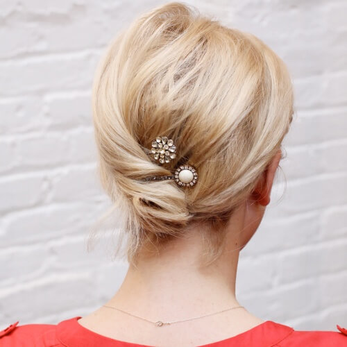 50 Cool Ways You Can Sport Updos For Short Hair Hair Motive Hair Motive