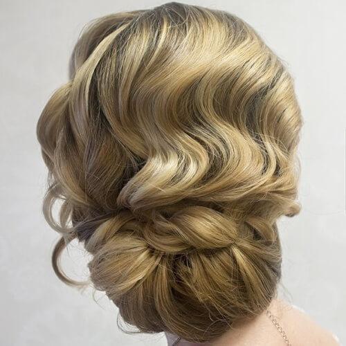 Vintage Chignon Hairstyles