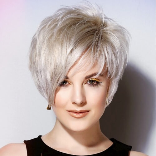 Voluminous Pixie Haircuts
