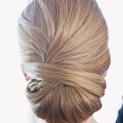 Wrapped Hairstyle