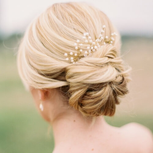 Accessorized Low Buns