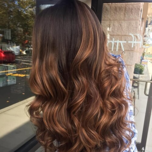 50 Fab Highlights For Dark Brown Hair Hair Motive Hair Motive