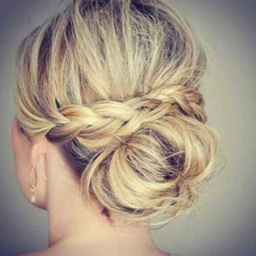 50 delicate bridesmaid hairstyles hair motive hair motive bridesmaid hairstyles updo pmusecretfo Images