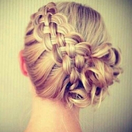 Bridesmaid Plait Hairstyles