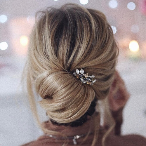 Chignon Bridesmaid Hairstyles