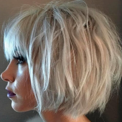 Choppy Bangs Hairstyles