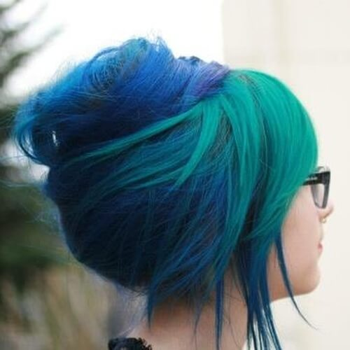 Colorful Updos
