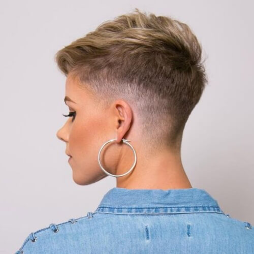 Edgy Short Haircut Styles for Thick Hair
