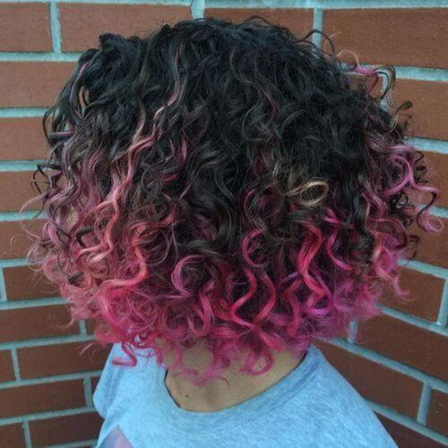 Hot Pink Streaks