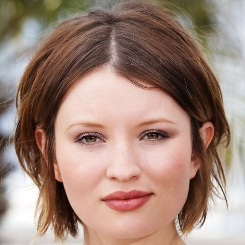Low Maintenance Short Haircuts for Round Faces