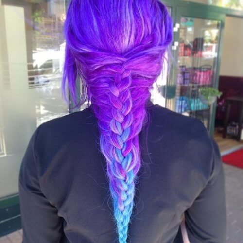 Mermaid Fishtail Braid