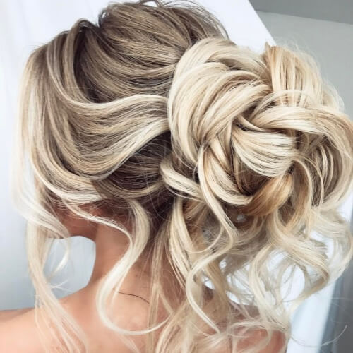 Prom Wedding Hairstyles: 50 Delicate Bridesmaid Hairstyles For A Beautiful