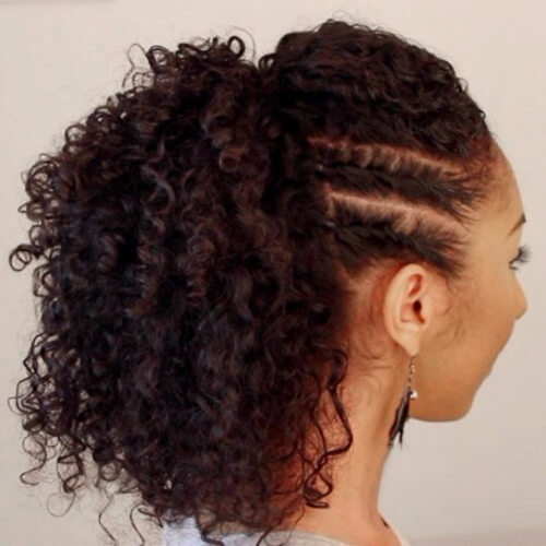 Natural Hairstyles for Bridesmaids