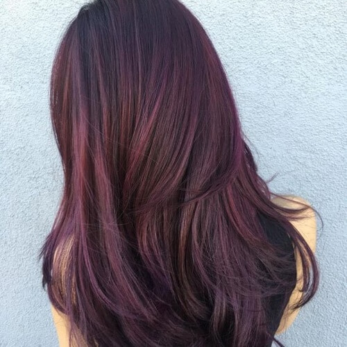 50 Highlights With Fabulous Effects On Dark Brown Hair