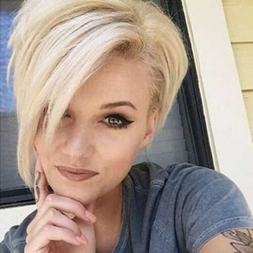 Sassy Short Haircuts for Thick Hair