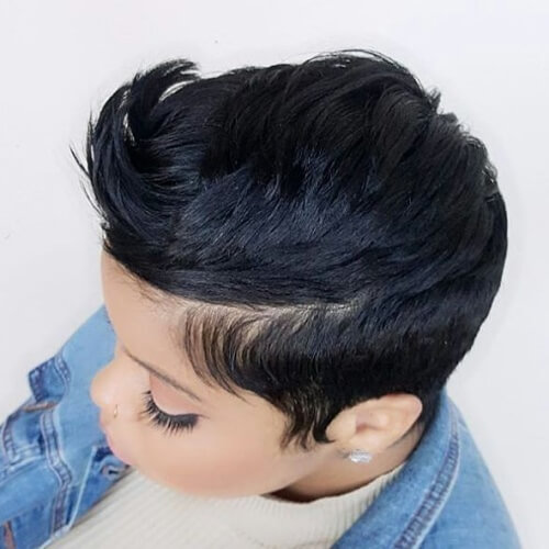 Short Haircuts for Thick Black Hair