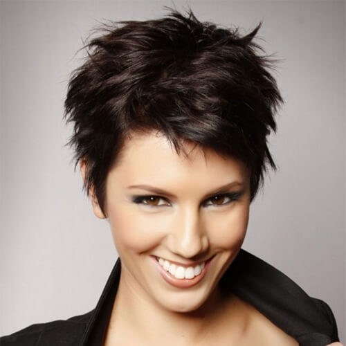 Short Spiky Haircuts for Thick Hair