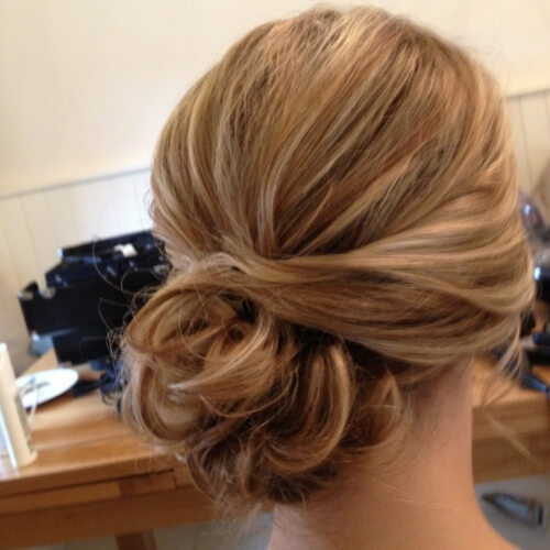 Side Bun Hairstyles for Bridesmaids
