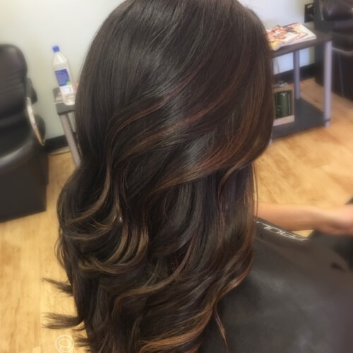 Highlights For Dark Brown Short Hair Brown Hairs