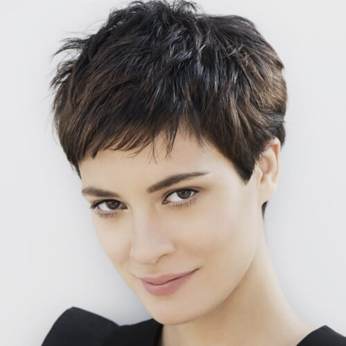 Very Short Haircuts for Thick Hair