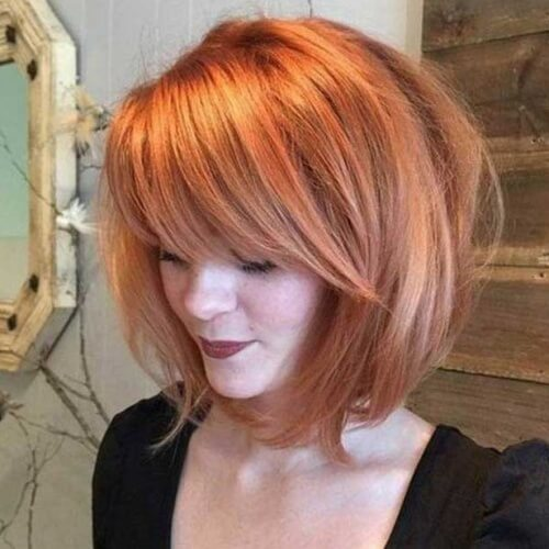 Voluminous Inverted Bobs