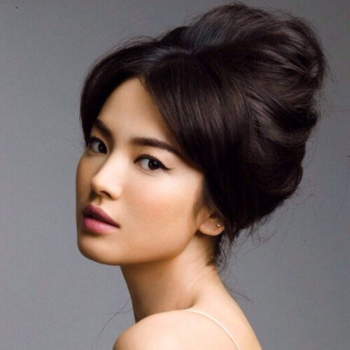 Asian Wedding Updo Hairstyles