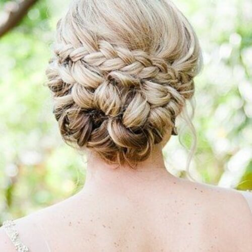 Braided and Knotted Buns