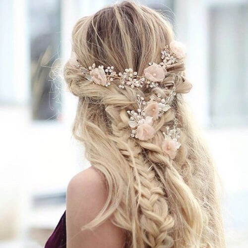 Bridal Hairstyles for Blondes
